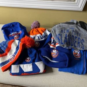 New York Islanders Youth Apparel and Hats